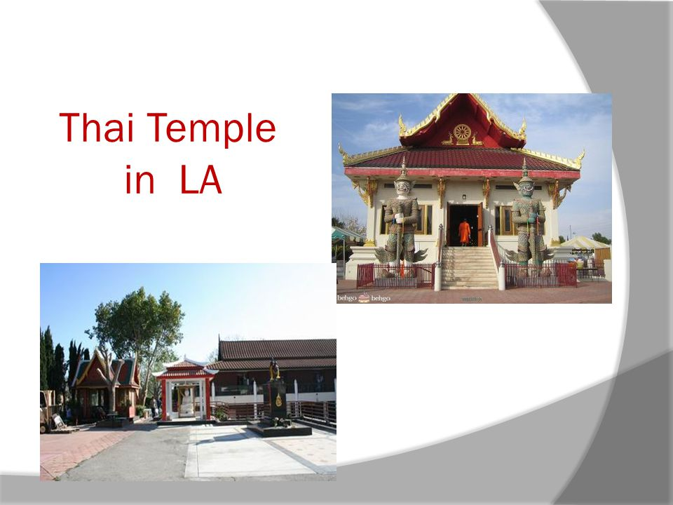Thai Temple in LA