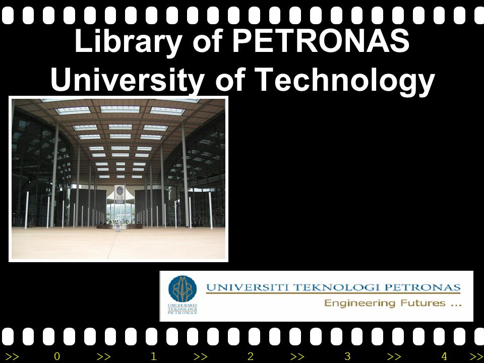 Library of PETRONAS University of Technology