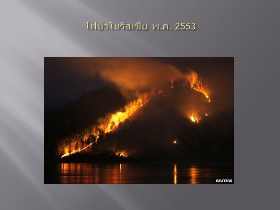 ไฟป่าในรัสเซีย พ.ศ. 2553