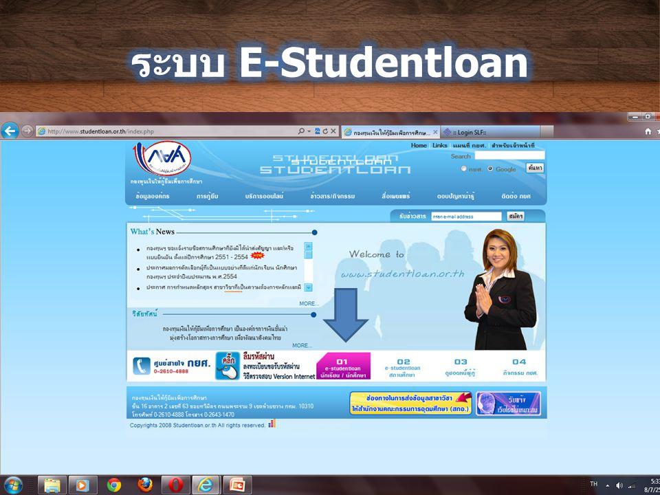 ระบบ E-Studentloan