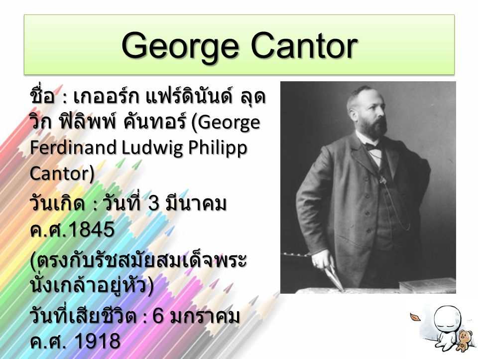 George Cantor
