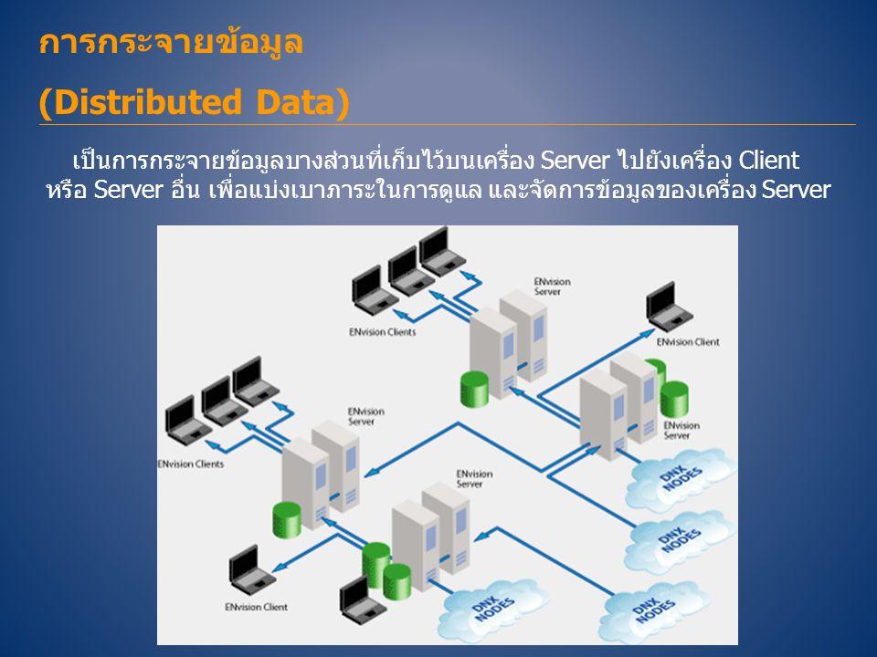 การกระจายข้อมูล (Distributed Data)