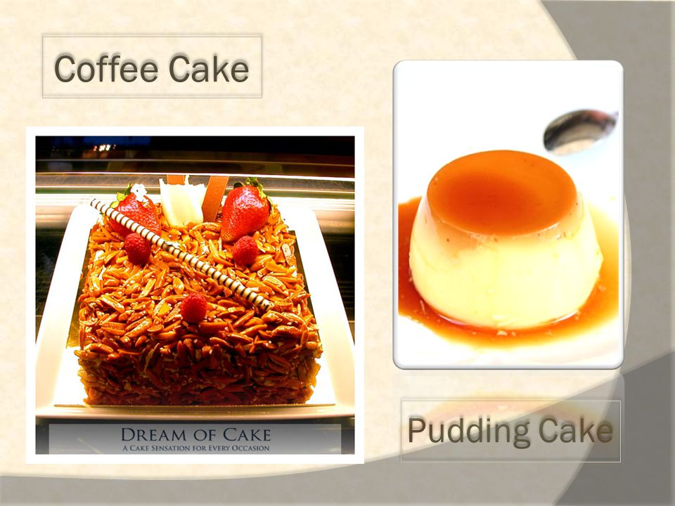 Coffee Cake Pudding Cake
