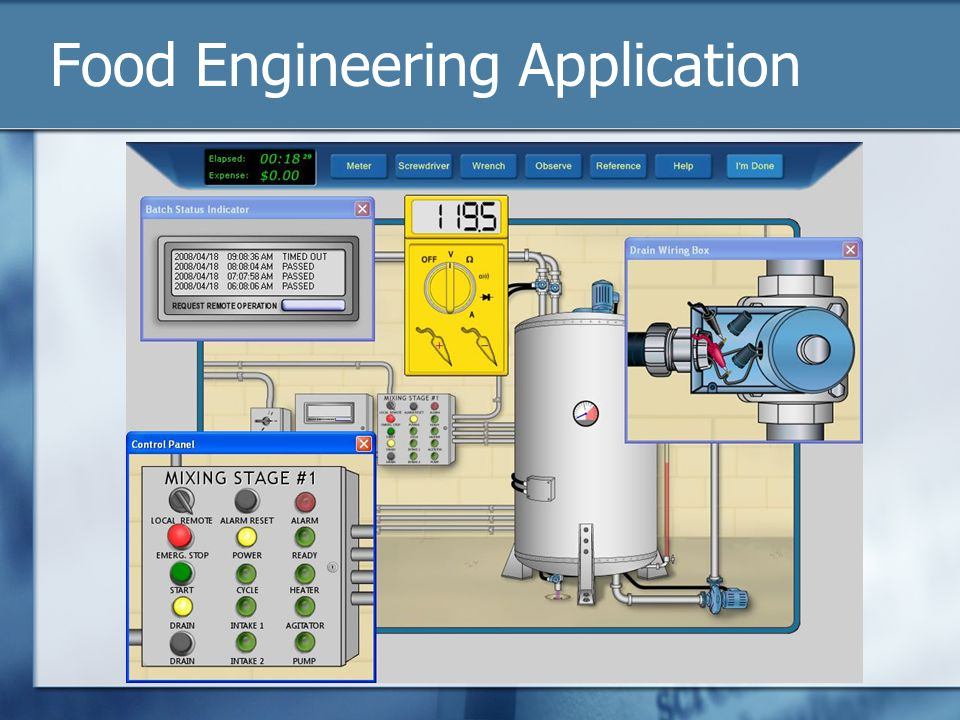 Food Engineering Application