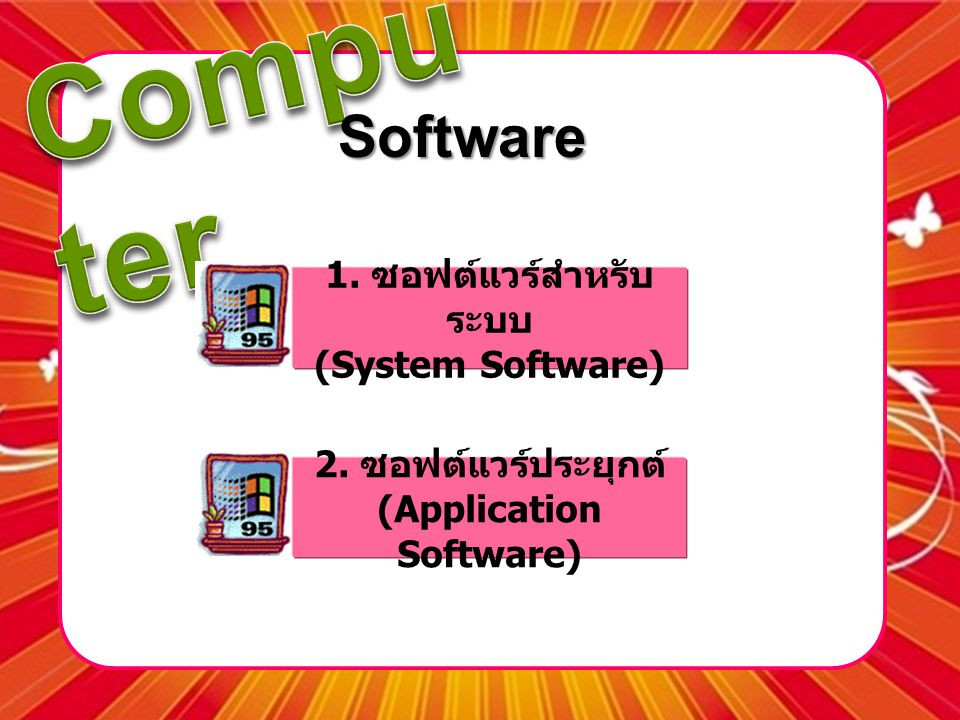 (Application Software)