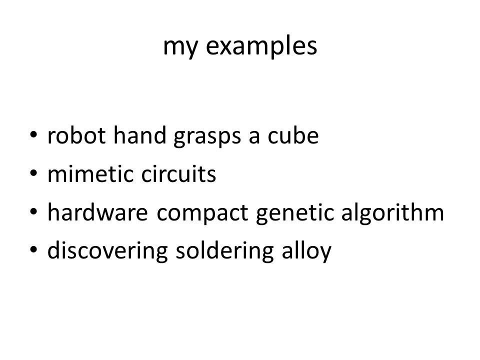 my examples robot hand grasps a cube mimetic circuits
