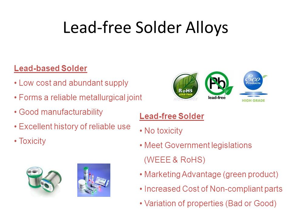 Lead-free Solder Alloys