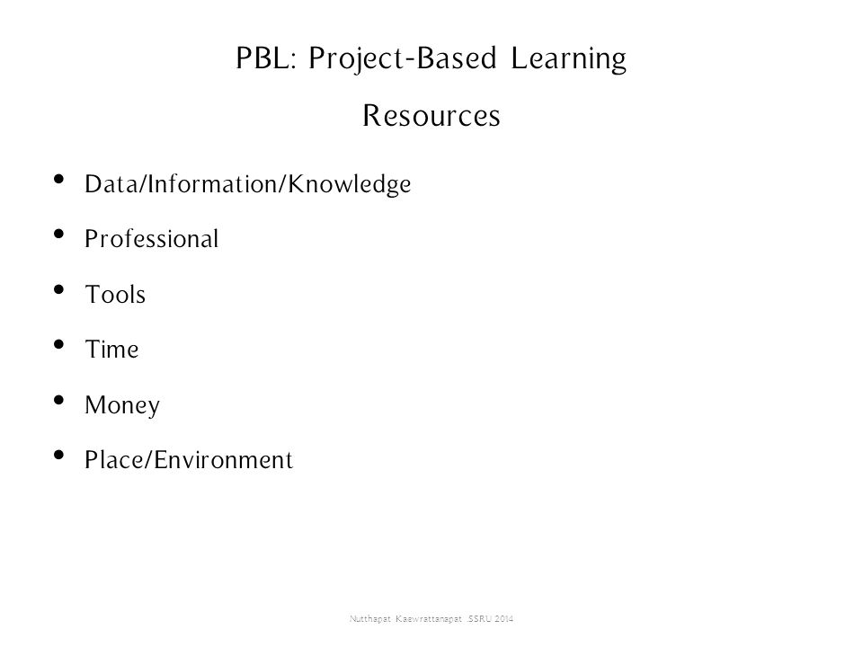 PBL: Project-Based Learning Resources