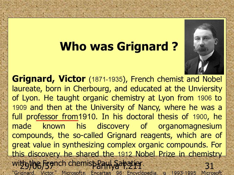 Who was Grignard