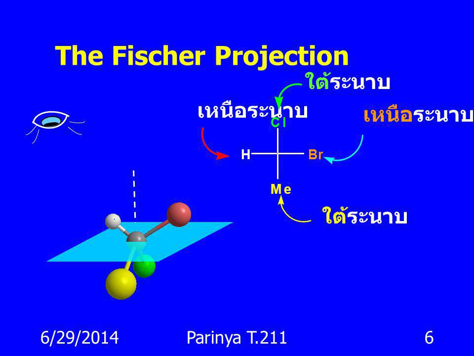 The Fischer Projection
