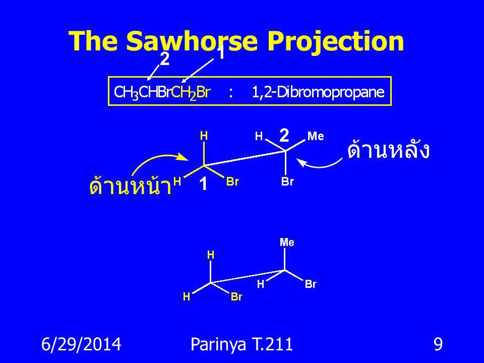 The Sawhorse Projection