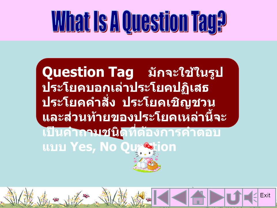 What Is A Question Tag