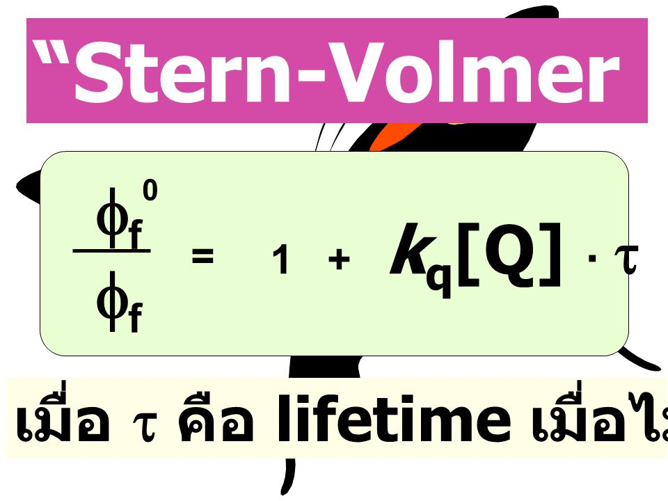 Stern-Volmer Equation