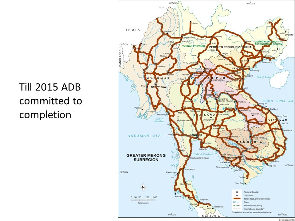 Till 2015 ADB committed to completion