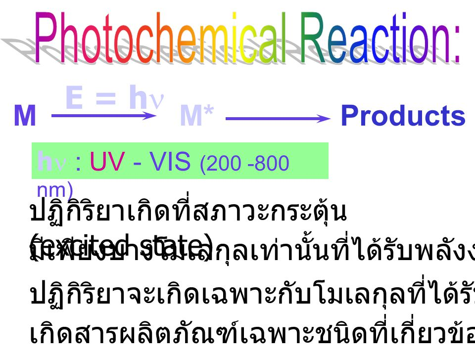 Photochemical Reaction: