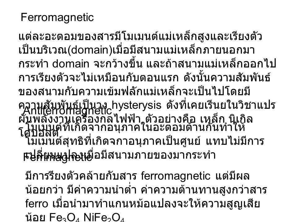 Ferromagnetic