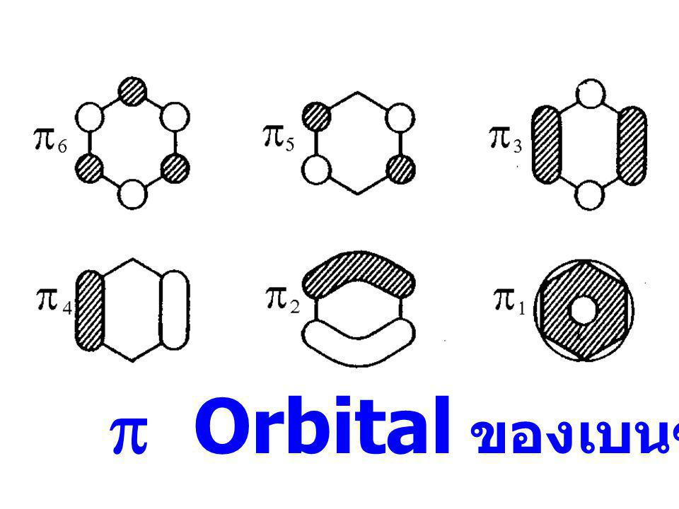 p Orbital ของเบนซิน