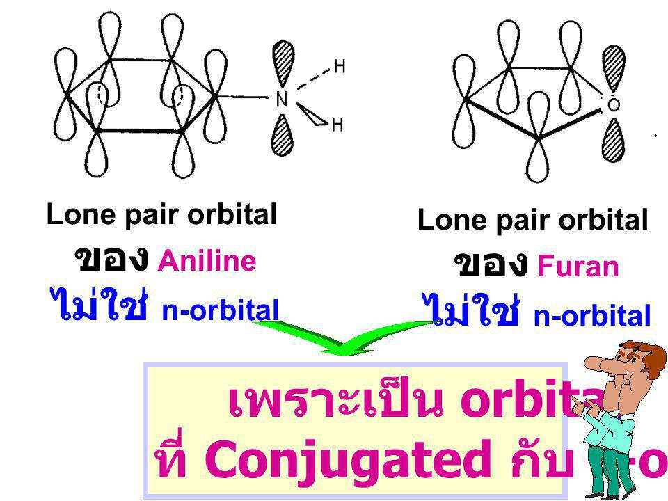 ที่ Conjugated กับ p-orbital