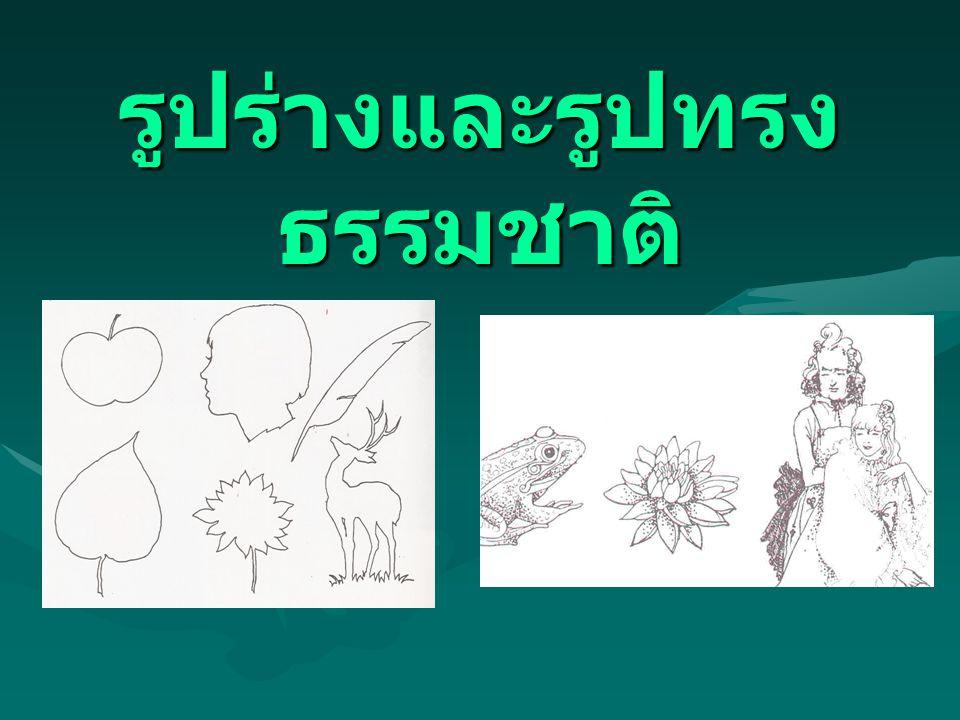 รูปร่างและรูปทรงธรรมชาติ
