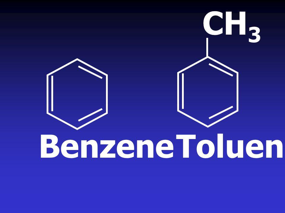 CH3 Benzene Toluene
