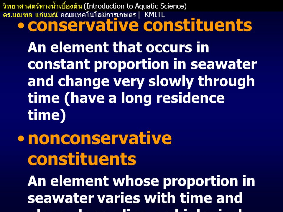 conservative constituents