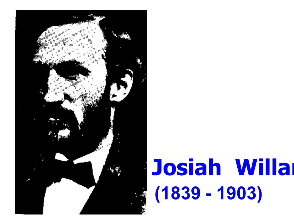 Josiah Willard Gibbs (1839 - 1903)