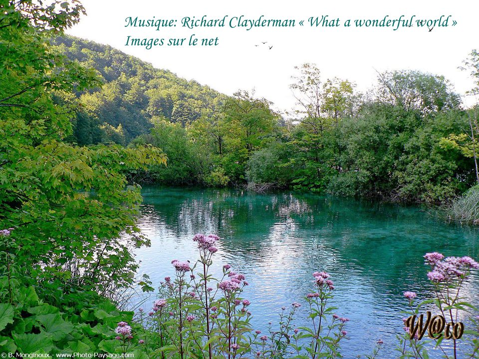 W@co Musique: Richard Clayderman « What a wonderful world »