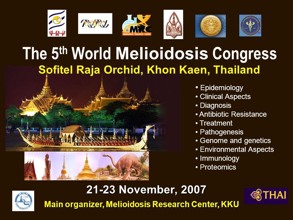 The 5th World Melioidosis Congress