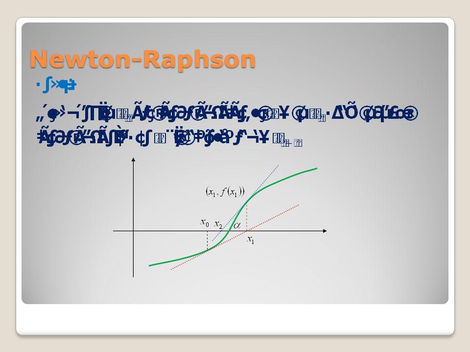 Newton-Raphson
