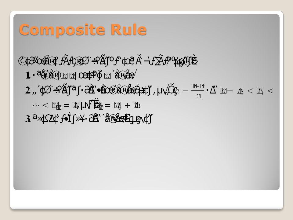 Composite Rule
