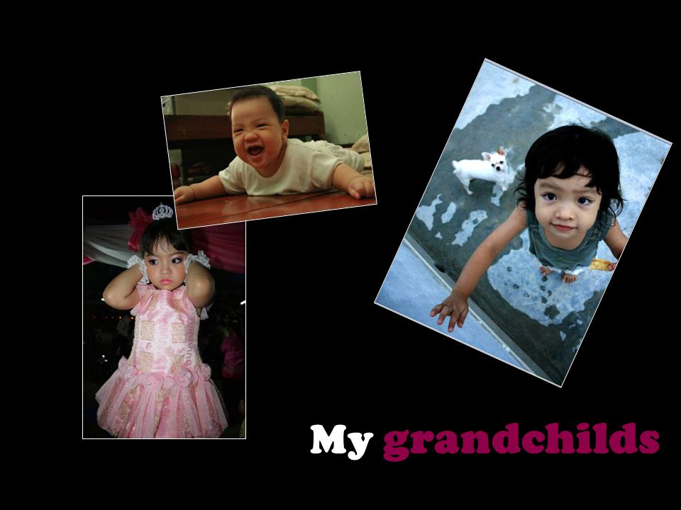 My grandchilds