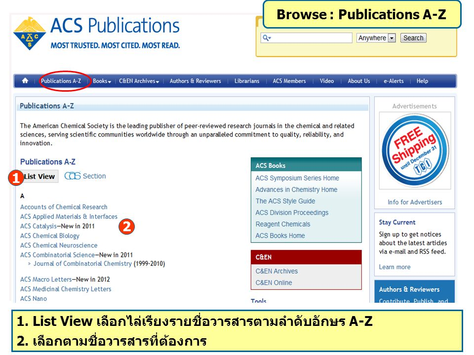 Browse : Publications A-Z