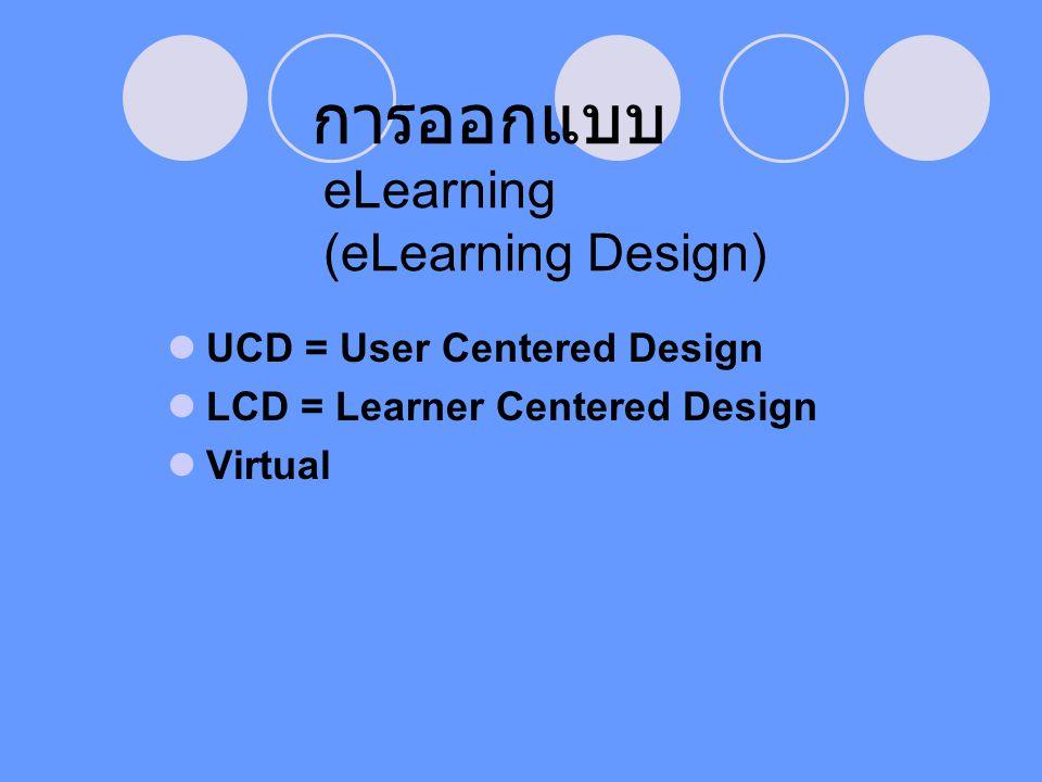 การออกแบบ eLearning (eLearning Design)