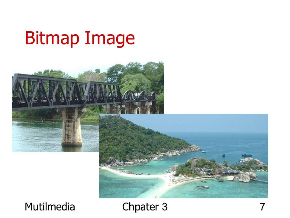 Bitmap Image Mutilmedia Chpater 3