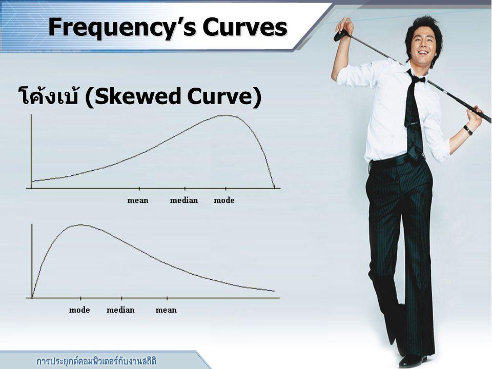โค้งเบ้ (Skewed Curve)