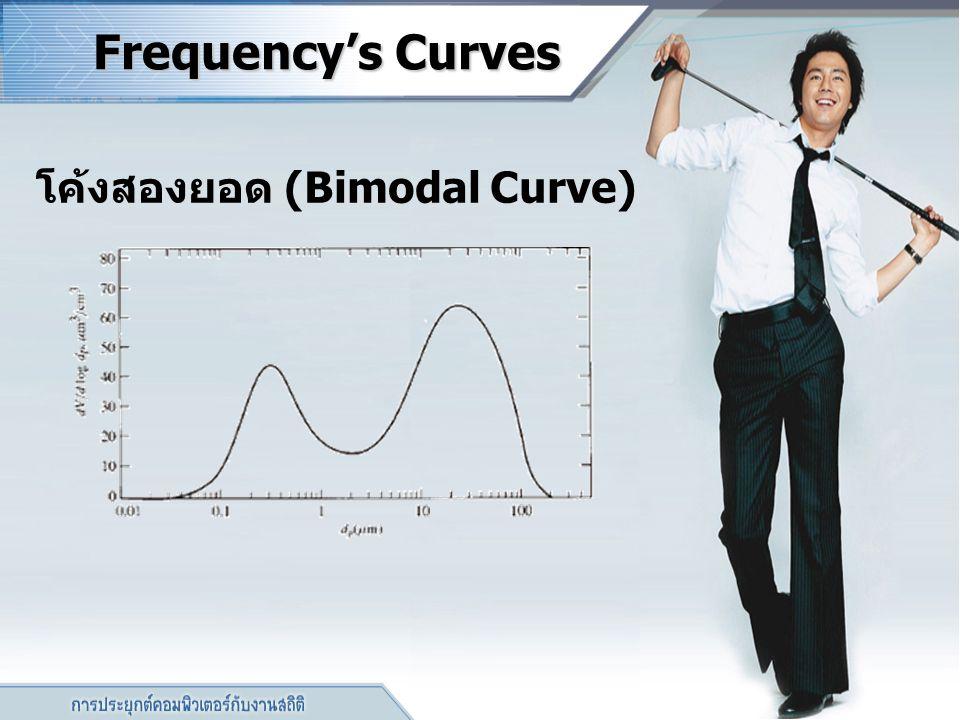 โค้งสองยอด (Bimodal Curve)