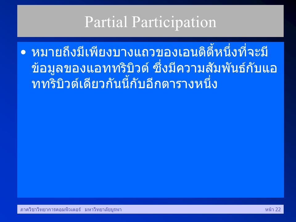 Partial Participation