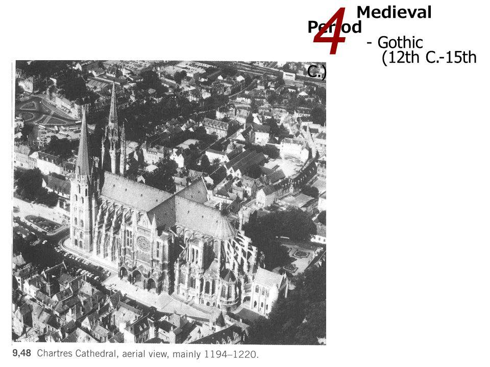 4 Medieval Period - Gothic (12th C.-15th C.)