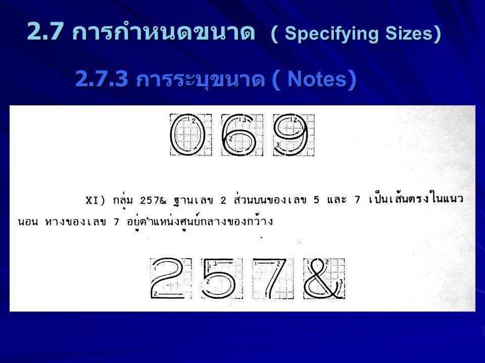 2.7 การกำหนดขนาด ( Specifying Sizes)