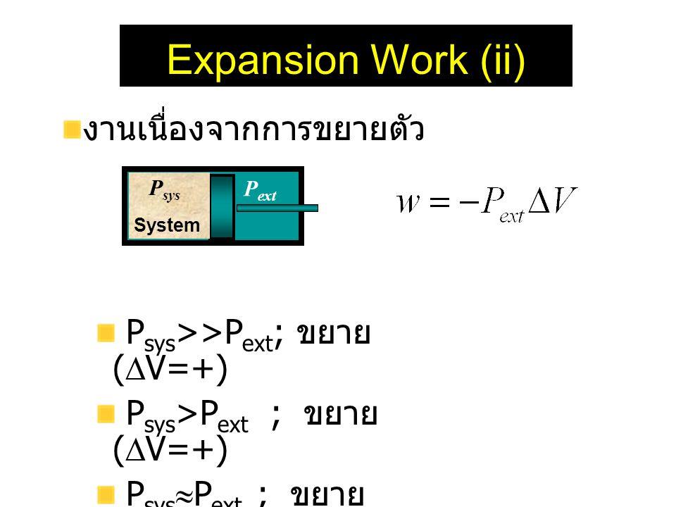 Expansion Work (ii) งานเนื่องจากการขยายตัว