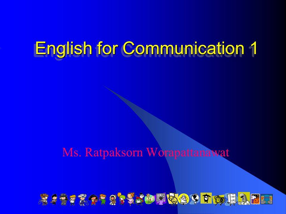 English for Communication 1