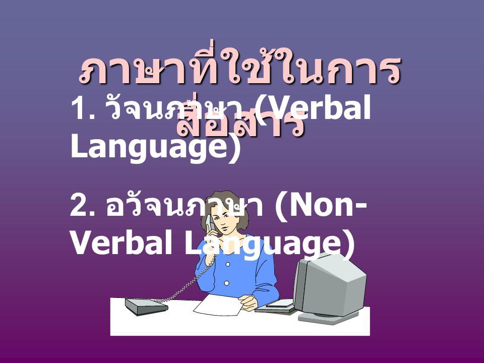 ภาษาที่ใช้ในการสื่อสาร