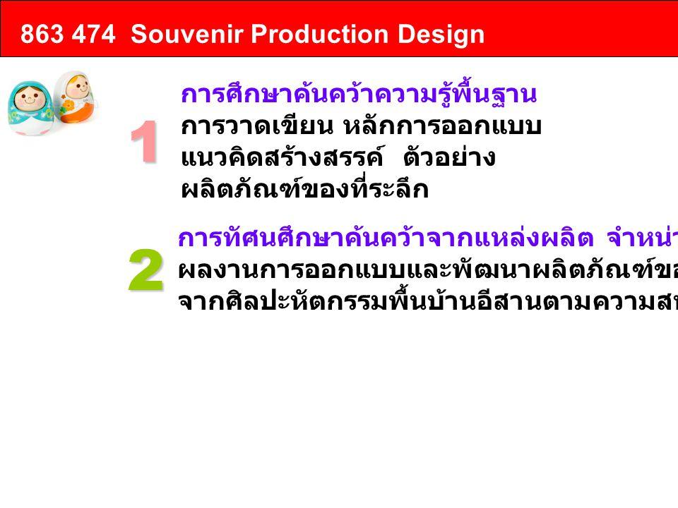 1 2 863 474 Souvenir Production Design การศึกษาค้นคว้าความรู้พื้นฐาน
