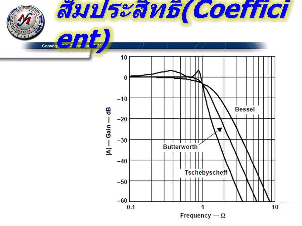 สัมประสิทธิ์(Coefficient)
