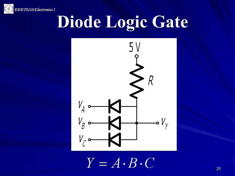 Diode Logic Gate