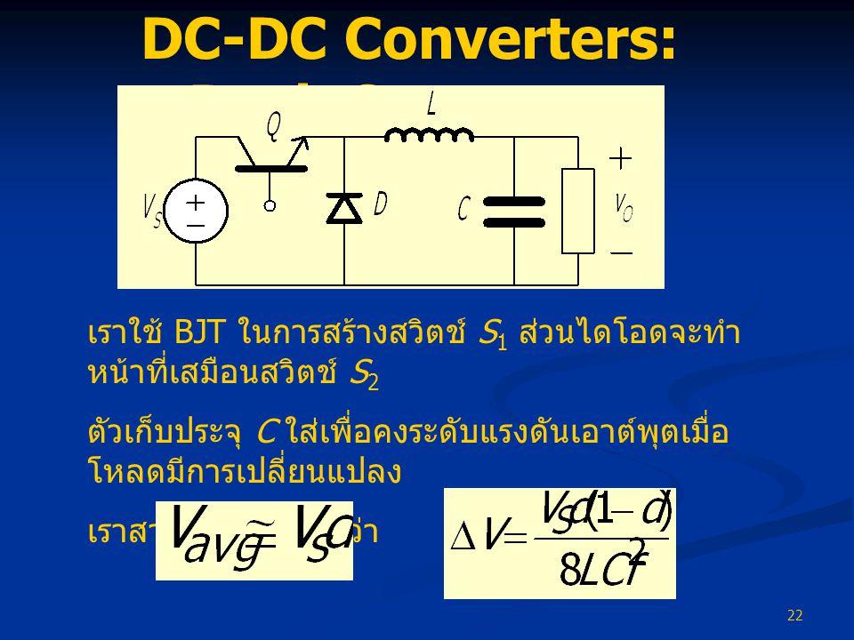DC-DC Converters: Buck Converter