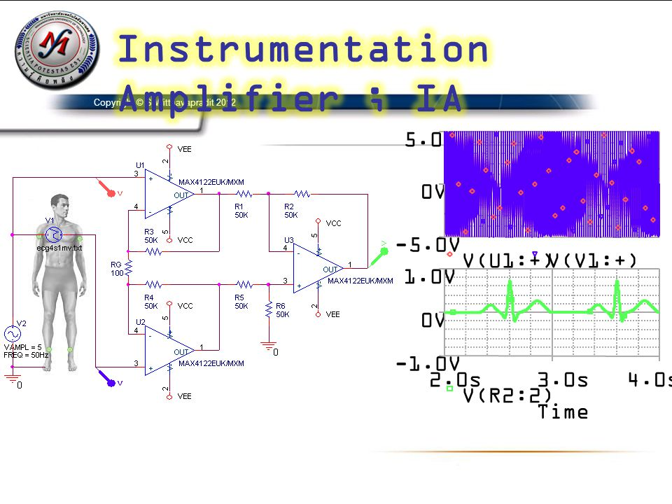 Instrumentation Amplifier ; IA