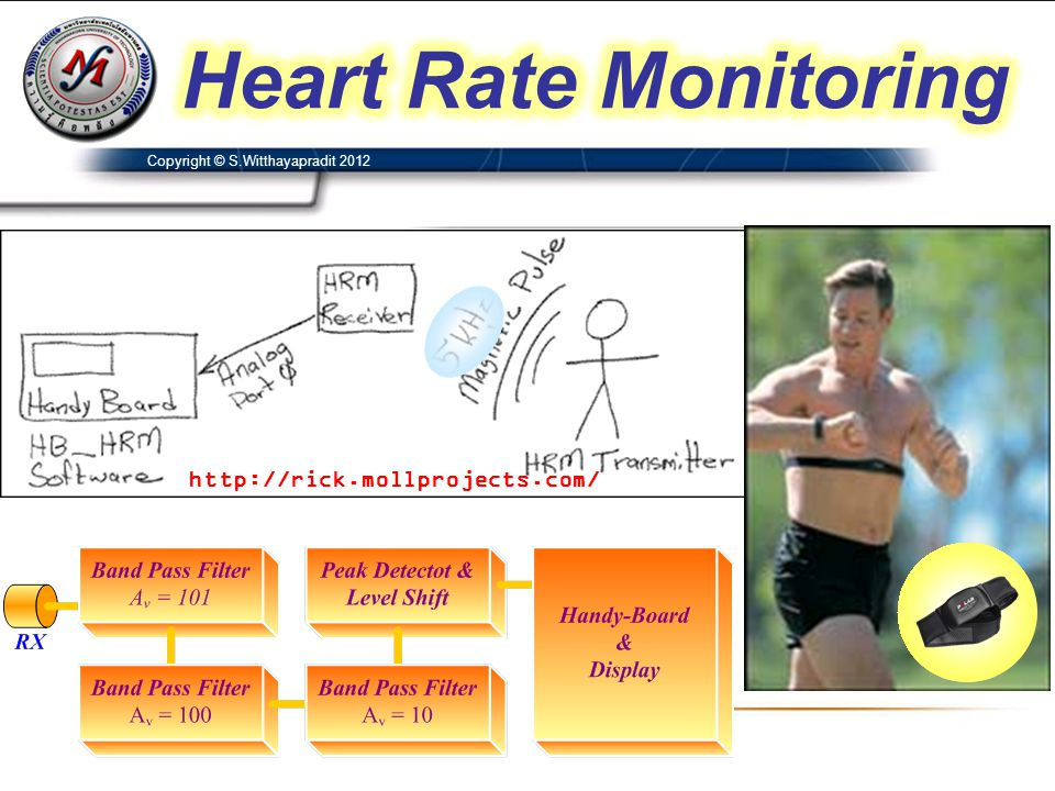 Heart Rate Monitoring http://rick.mollprojects.com/