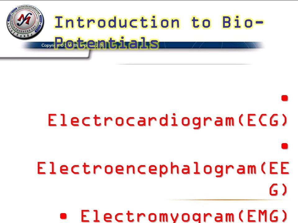 Electrocardiogram(ECG) Electroencephalogram(EEG)