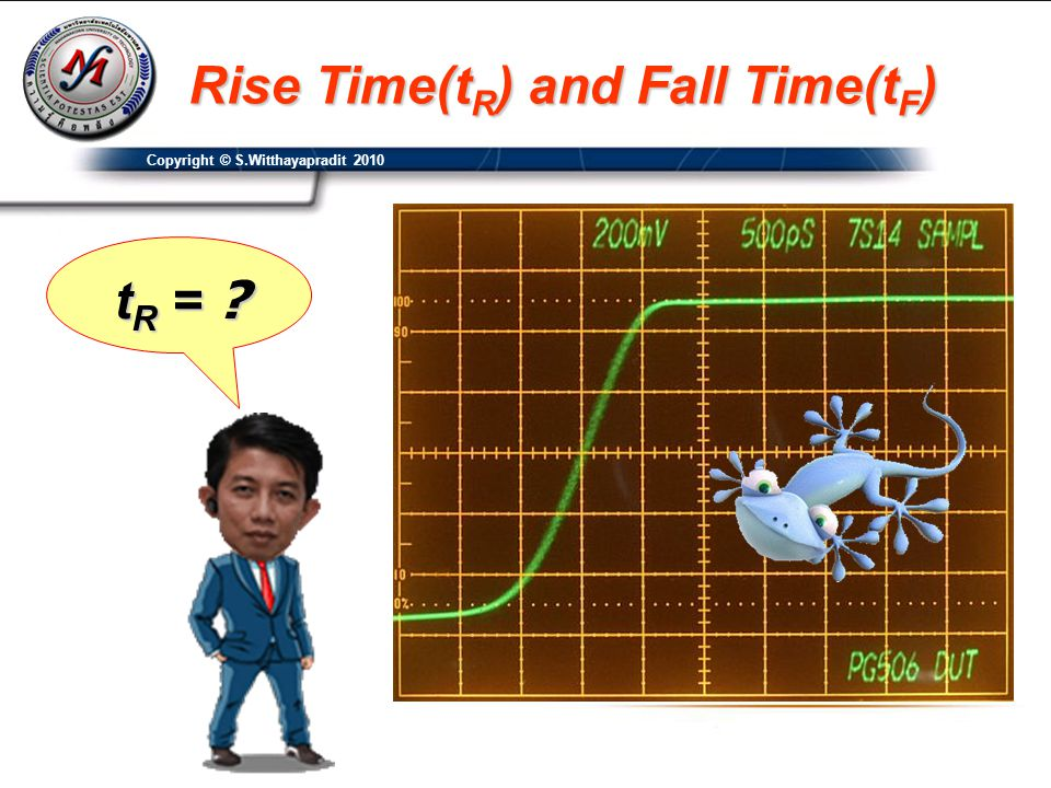 Rise Time(tR) and Fall Time(tF)